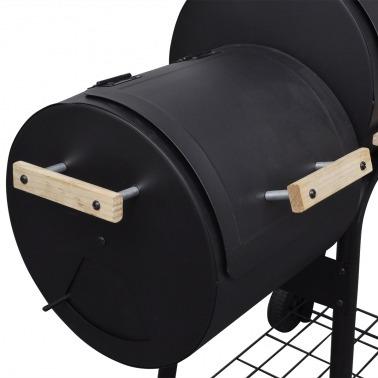 Barbacoa clásica de carbón