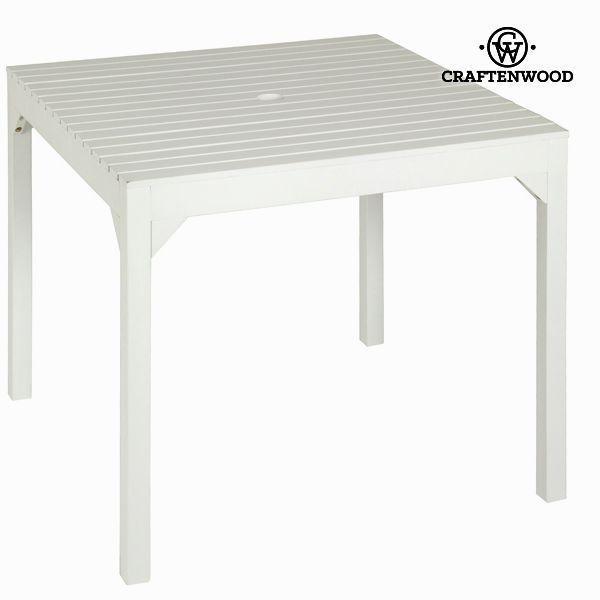 Mesa cuadrada para sombrilla Craftenwood