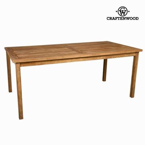 Mesa exterior de teca natural Craftenwood