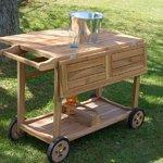 Camarera en madera de teca by Craftenwood