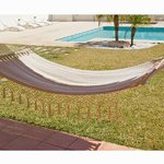 Hamaca para colgar beige by Craftenwood