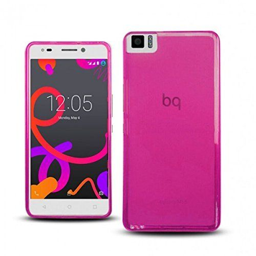 Funda bq Aquaris M4.5 Gel rosa