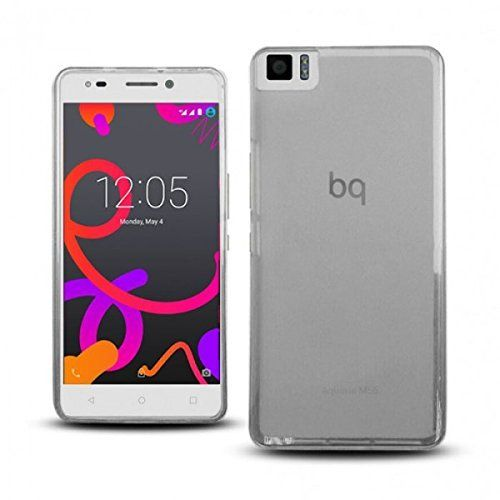 Funda bq Aquaris M4.5 Gel transparente