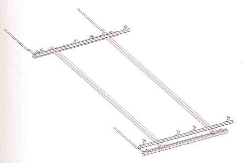 Soporte para tejado inclinado 1 colector