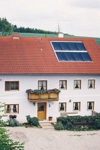 Equipo solar de circulación forzada de 350 litros