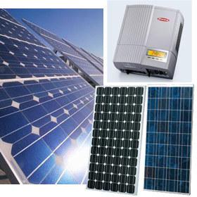 Sistema solar fotovoltaico de 2.000W