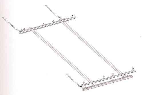 Soporte para tejado inclinado 2 colectores