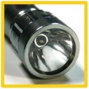 Flashlight sun compass