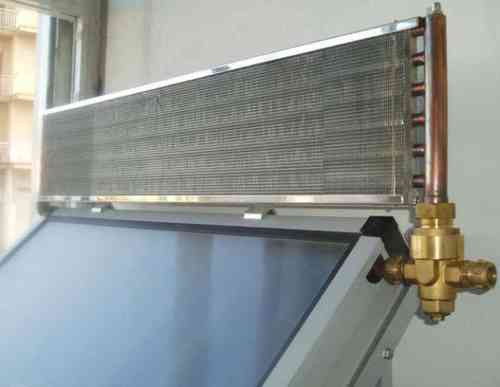 Disipador de calor para 1 colector