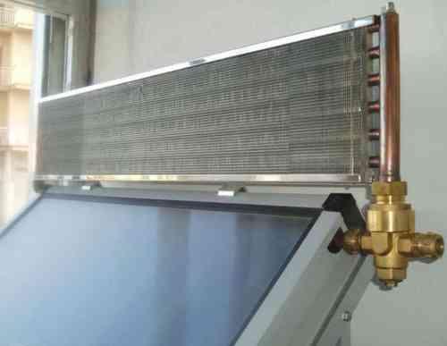 Disipador de calor para 2 colectores