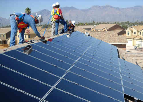 solar installation mountaing