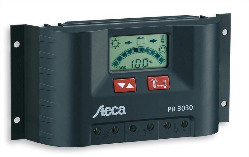 Regulador Steca de 30 amperios 12/24V PR3030