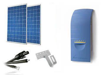 Kit solar ahorro de energia de 450W