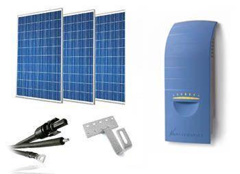 Kit solar ahorro de energia de 600W