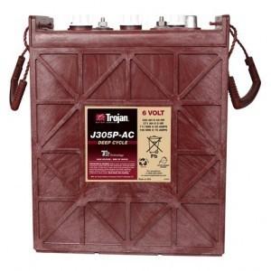 Batería monoblock Trojan J305P-AC 367A 6V