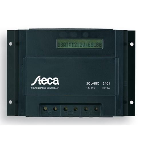 Regulador Steca Solarix 2401 40A/10A 12V/24V LEDs