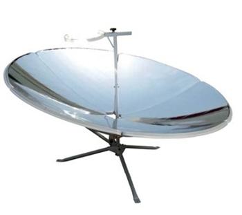Cocina solar con reflector parabólico de 2,5 m2