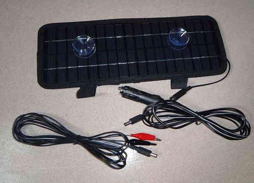 Mantenimiento solar para baterías de vehículos