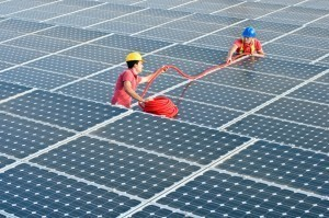 Anti-theft for solar panels (25 to 40 panels)