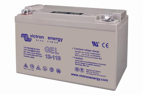 Batería de Gel 12V/110Ah(C20) Deep Cycle de Victron