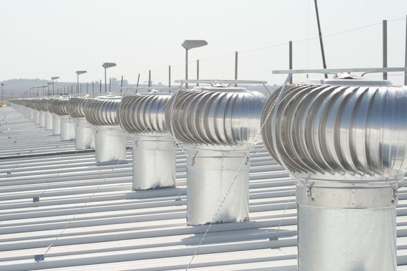"""Extractor eólico ecológico de 10"""""""