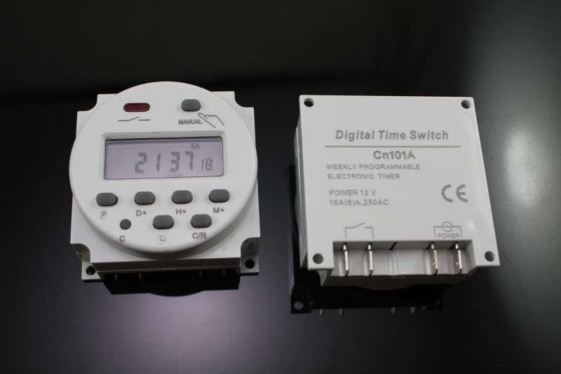Programador digital 220V instalación en pared