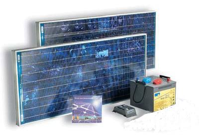 Equipo solar de 12V para frigoríficos solares