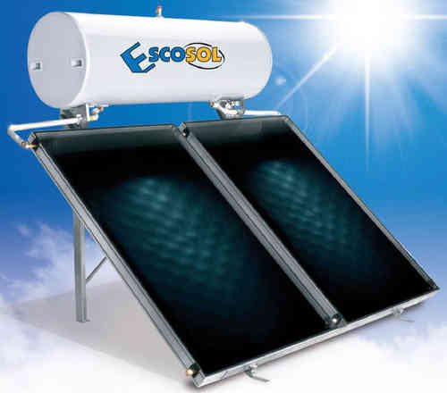 Termosyphon tilted/flat roof Escosol Star 300 liters