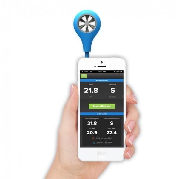 Anemómetro para Smartphone