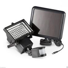 Foco solar LED para exteriores con sensor