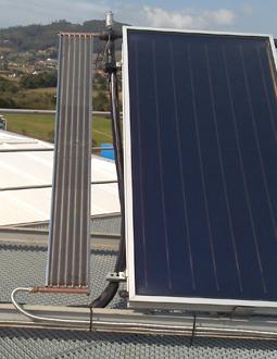 Disipador de calor para energía solar térmica para 2 paneles