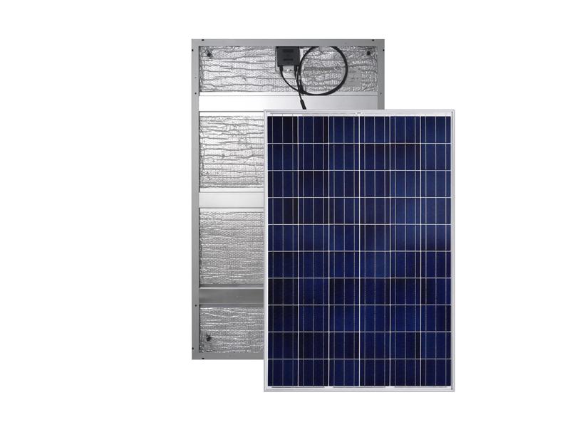 Panel solar híbrido 250W / 24V agua caliente y electricidad