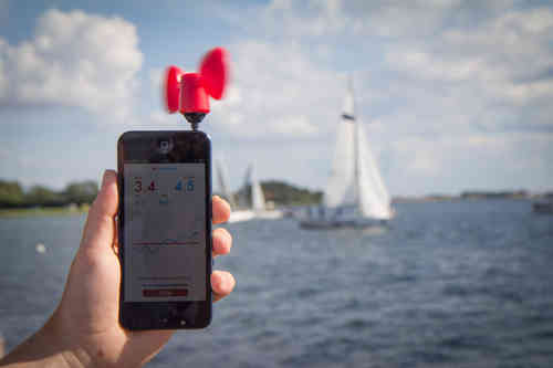 Wind meter for your smartphone