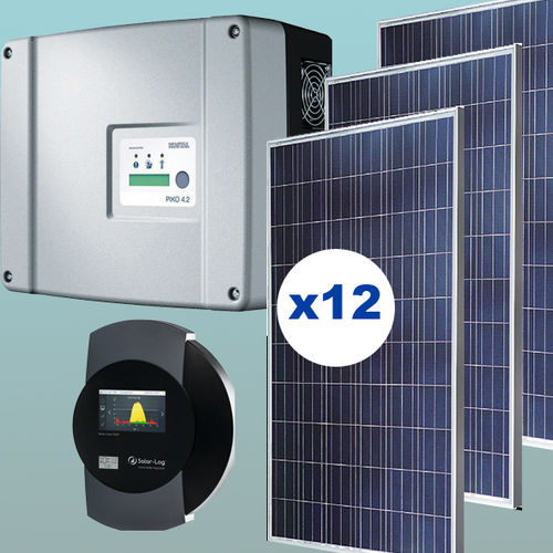 3 kW Solar kit injection 0