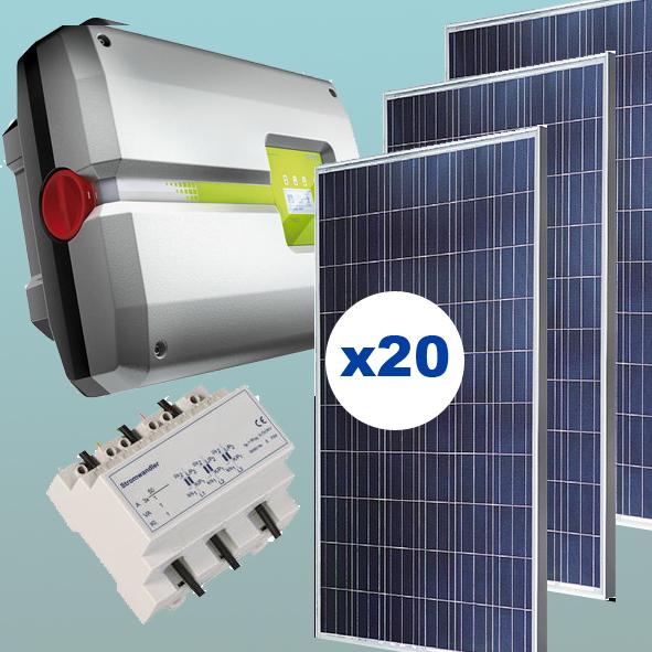 Kit solar de 5 kW inyección 0