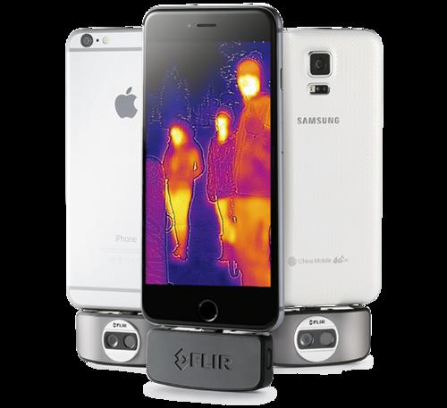 Cámara termográfica para smartphones