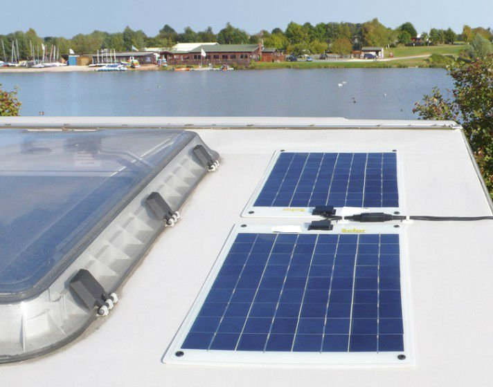 Panel solar flexible de 75W 12V