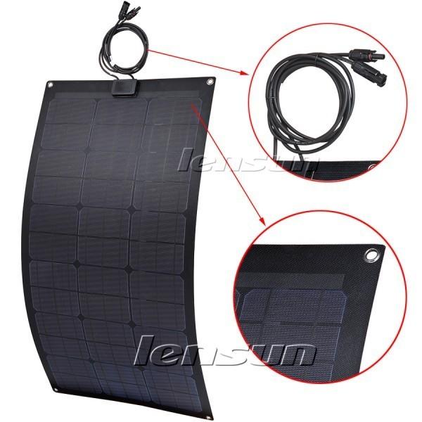 Panel solar flexible de 80W 12V