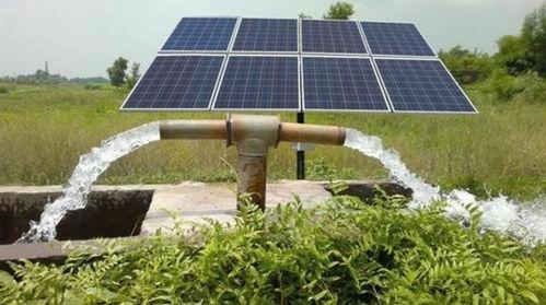 Kit solar para bombeo de agua de pozo