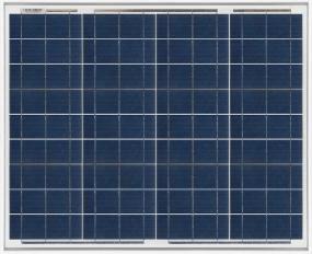 Panel solar monocristalino Turbo Energy de 50W 12V
