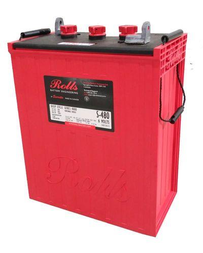 Baterías Rolls de 6V