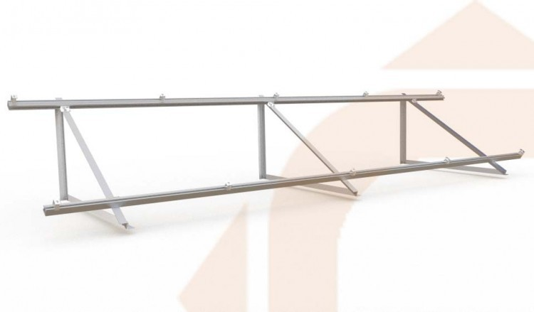 Structure for ground or flat roof