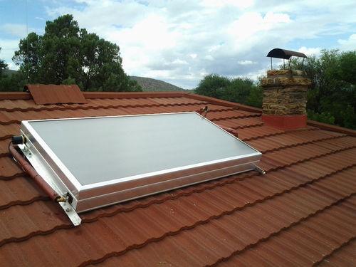 Captador solar Solcrafte Style PLUS 195 litros con resistencia
