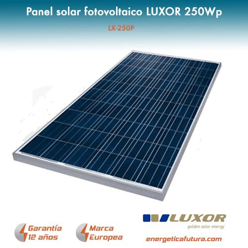 25 und. Panel solar Luxor LX 250P (250W)