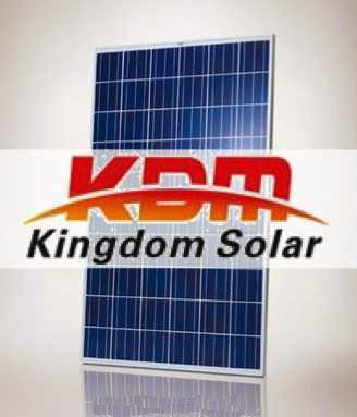 25 und. Panel solar KDM de 250W