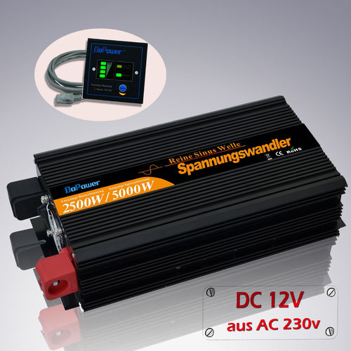 DoPower Inverter 2500W - 12V