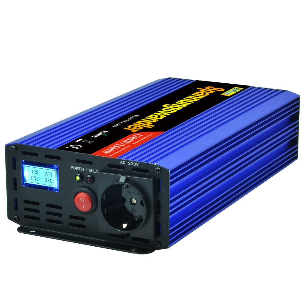 Inversor DoPower de 1200W y 12V
