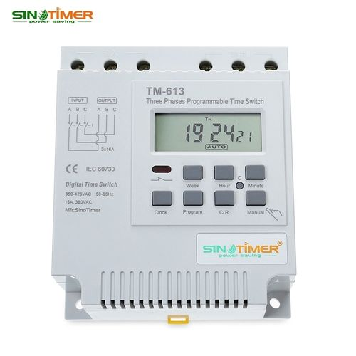 two units 380V three phase digital programmer