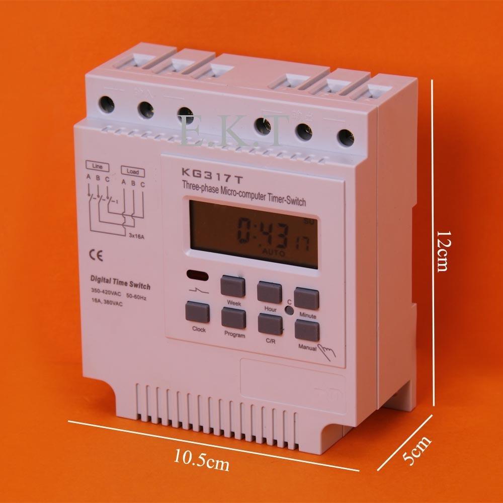 2 unidades programador digital trifase 380V