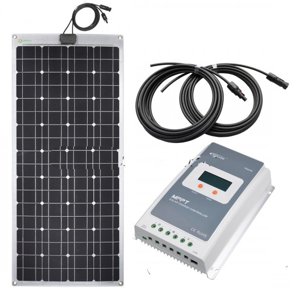 Kit solar para caravanas de 100W